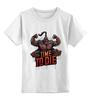 "Детская футболка классическая унисекс ""Mortal Combat"" - игра, mortal kombat, мортал комбат, time to die, goro, горо"