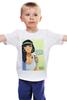 """Детская футболка классическая унисекс """"Hipster Jasmine"""" - хипстер, hipster, алладин, жасмин, джин"""