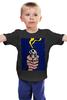 """Детская футболка классическая унисекс """"Выстрел"""" - оружие, gun, weapon, руки в верх"""