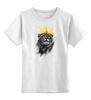 """Детская футболка классическая унисекс """"Король Лев"""" - животные, корона, лев, царь зверей"""