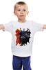 """Детская футболка классическая унисекс """"Бэтмен/Batman"""" - супермен, batman, superman, бэтмен"""
