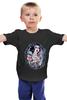 """Детская футболка классическая унисекс """"Белоснежка"""" - авторские майки, рисунок, гот, белоснежка"""