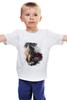 """Детская футболка классическая унисекс """"Витязь"""" - борода, богатырь, витязь"""