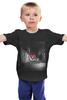 "Детская футболка классическая унисекс ""Rise Against - logo"" - rise against, punk, панк, hardcore, хардкор"