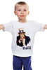 """Детская футболка классическая унисекс """"Америка"""" - америка, usa, американский пирог, uncle sam, дядя сэм"""