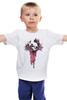 "Детская футболка классическая унисекс ""ХАРДКОР"" - рок, rock, хардкор"