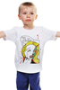 "Детская футболка ""Cartoon zombie"" - приколы, comics, зомби"