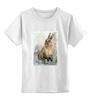 """Детская футболка классическая унисекс """"Зайка"""" - заяц, кролик, зайчик"""