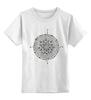 """Детская футболка классическая унисекс """"Мандала"""" - арт, symbol, mandala"""