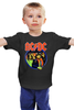 """Детская футболка """"AC/DC """" - hard rock, acdc, ac-dc, хэви метал, эйси диси"""