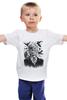 """Детская футболка """"Хичкок и Вороны"""" - глаз, вороны, ужасы, хоррор, raven"""