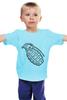 """Детская футболка классическая унисекс """"Grenade"""" - рисунок, grenade, boom, граната, новое, лимонка, hand grenade"""