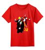 """Детская футболка классическая унисекс """"Коммунистическая вечеринка"""" - ссср, ленин, вечеринка, сталин, серп и молот"""