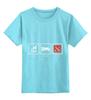 """Детская футболка классическая унисекс """"eat sleep dota"""" - sleep, dota, eat, video games"""