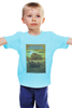 """Детская футболка классическая унисекс """"The Texas Chain Saw Massacre"""" - автобус, афиша, техасская резня бензопилой, броненосец, the texas chain saw massacre"""