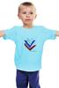 """Детская футболка классическая унисекс """"Три Цвета В Жизни Одеты"""" - россия, russia, флаг, рф"""