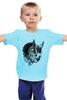 """Детская футболка """"Owl Gray"""" - взгляд, сова, филин, owl"""