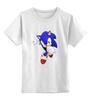 """Детская футболка классическая унисекс """"Sonic"""" - соник, sonic, sega"""