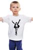 """Детская футболка классическая унисекс """"Майкл Джексон (Michael Jackson)"""" - король, майкл джексон, michael jackson, mj"""