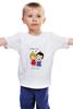 """Детская футболка классическая унисекс """"любовь"""" - любовь, love is, любовь это"""