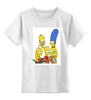 """Детская футболка классическая унисекс """"Симпсоны"""" - симпсоны, the simpsons"""