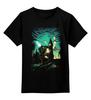 """Детская футболка классическая унисекс """"Пришельцы"""" - лондон, нло, биг бен, ufo, пришельцы"""
