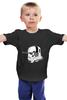 """Детская футболка классическая унисекс """"Music Trooper"""" - музыка, star wars, звездные войны, штурмовик"""