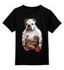 """Детская футболка классическая унисекс """"Собака Боксёр"""" - спорт, бокс, боксёр, бульдог"""