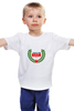 """Детская футболка классическая унисекс """"USSR #1"""" - звезда, ссср, ussr, страна, россия"""