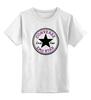 "Детская футболка классическая унисекс ""Converse Emo"" - converse, эмо, all star, e-one, emo star"