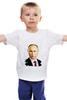 "Детская футболка ""Владимир Путин"" - путин, президент, putiin"