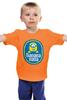"Детская футболка классическая унисекс ""Banana Minion"" - banana, банан, миньон, гадкий я, minion"