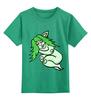 """Детская футболка классическая унисекс """"Дремлющая троллита"""" - девушка, сон, тролль, сказки, мифические существа"""