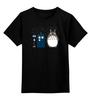 """Детская футболка классическая унисекс """"Вперёд Тоторо"""" - доктор кто, аниме, мой сосед тоторо, тардис"""