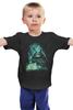 """Детская футболка классическая унисекс """"Тоторо"""" - абстракция, totoro, мой сосед тоторо"""
