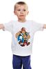 """Детская футболка классическая унисекс """"Астерикс и Обеликс"""" - комикс, мульт, астерикс и обеликс, галл, астерикс, обеликс"""
