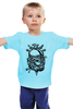"Детская футболка классическая унисекс ""Old School Custom"" - school, мото, old, black n white, custom"