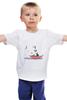 """Детская футболка классическая унисекс """"Мой сосед Тоторо"""" - мультфильм, аниме, япония, мой сосед тоторо, хаяо миядзаки"""