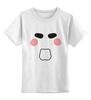 """Детская футболка классическая унисекс """"Пила (Saw)"""" - пила, saw, клоун"""