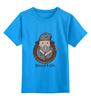 """Детская футболка классическая унисекс """"wizard for life"""" - adventure time, время приключений, волшебник, маг, чародей"""