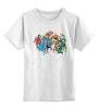 "Детская футболка классическая унисекс ""Комикс DC"" - супермен, комикс, бэтмен, dc, флэш"