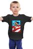 """Детская футболка классическая унисекс """"Чудо-Женщина (Wonder Woman)"""" - чудо-женщина, wonder woman, супергероиня"""