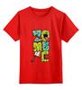 """Детская футболка классическая унисекс """"iZombie"""" - zombie, зомби"""