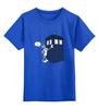 "Детская футболка классическая унисекс ""What's Up, Doc?"" - doctor who, tardis, доктор кто, багз банни, тардис"