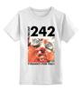 """Детская футболка классическая унисекс """"Front 242 / Tyranny ▷ For You ◁"""" - индастриал, industrial, ebm, front 242, electronic body music"""