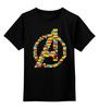"""Детская футболка классическая унисекс """"Мстители (Лего)"""" - мстители, avengers, lego"""