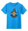 """Детская футболка классическая унисекс """"Миньондальф"""" - властелин колец, миньоны, гадкий я, minion, гэндальф"""