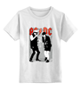 """Детская футболка классическая унисекс """"AC DC"""" - ac dc, ac-dc"""