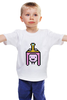"""Детская футболка классическая унисекс """"Принцесса Бубльгум"""" - принцесса, adventure time, время приключений, finn, бубльгум"""