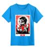 """Детская футболка классическая унисекс """"meow"""" - кот, котенок, революция, meow"""
